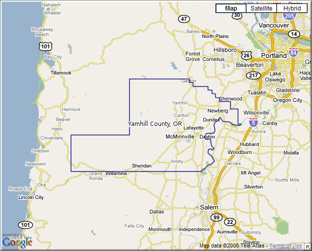 Yamhill_cty_map